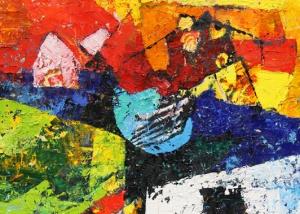 Adelheid Zwollo - Olieverf schilderij