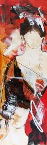 Dario Bosa - Olieverf schilderij - Kunstwerk