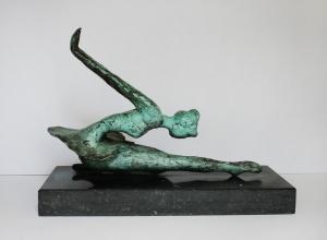 Didi Petri - Brons - Kunstwerk