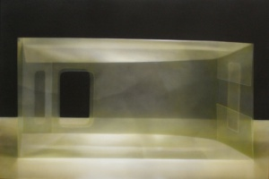 Elzo Dibbets - olieverf schilderij - Kunstwerk