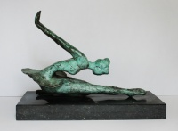 Didi Petri - Brons Unica- Kunstwerk