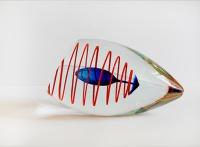 Henrik Rysz - Kristal Glas Object - Kunstwerk