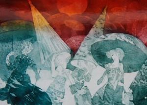 Michael Jepkes - Ets Aquatint - Kunstwerk