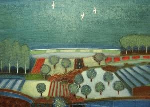 Rob van Hoek - Olieverf schilderij - Kunstwerk