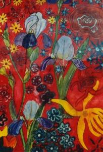 Jan Rutten- Acryl op papier - Kunstwerk