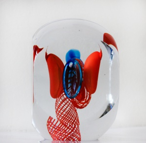 Jaroslav Svoboda - Kristal Glas object- Kunstwerk
