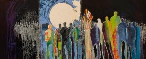 Marjolijn van Ginkel - Acryl schilderij - Kunstwerk