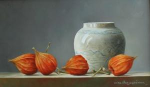 Pita Vreugdenhil - Olieverf schilderij - Kunstwerk