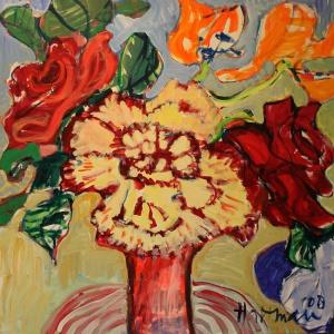 Petra Hartman - Olieverf schilderij - Kunstwerk