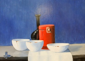 Henk Poeder - Olieverf - Kunstwerk