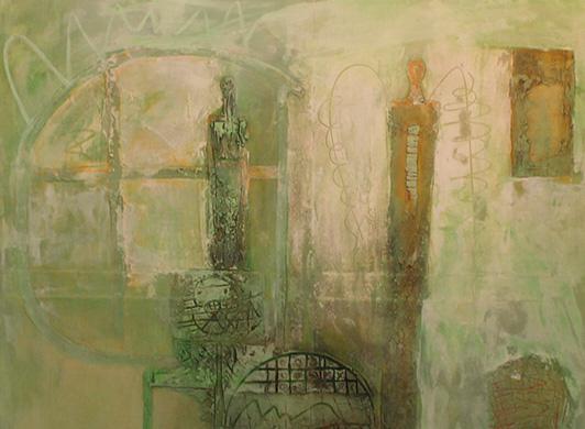 Jan Rutten- Materie schilderij - Kunstwerk